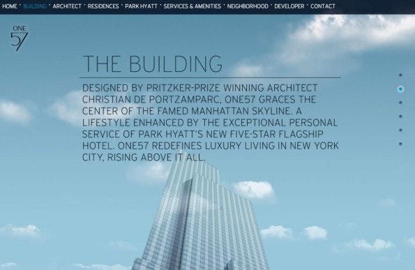 Ein Skyscraper im digitalen Portrait: One57.