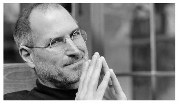 Steve Jobs rät Gründern zur Suche nach dem Glück im Arbeitsleben. (Foto: Apple)