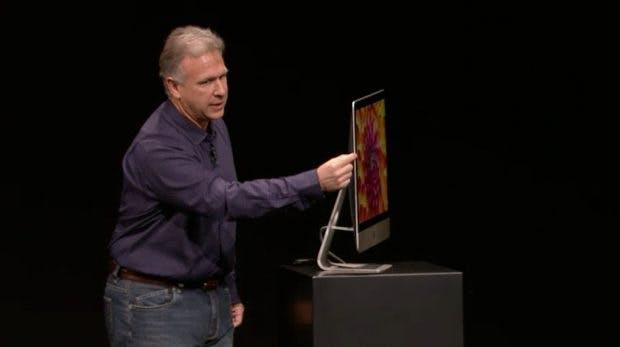 Neue Mac-Modelle: Das Design den aktuellen iMacs besteht seit 2012. (Bild: Apple)