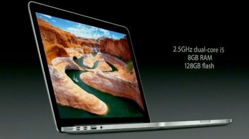 MacBook Pro mit Retina-Display: Apple präsentiert ultraschlanke 13,3 Zoll-Version