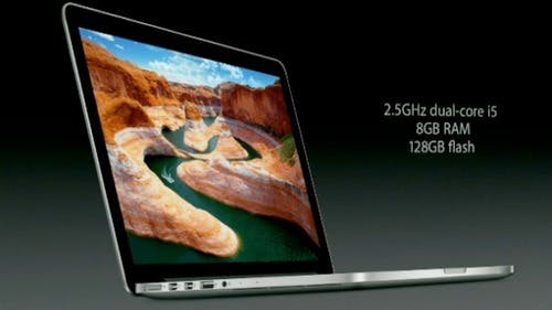 MacBook Pro mit Retina-Display: Apple präsentiert ultraschlanke 13,3 Zoll-Version