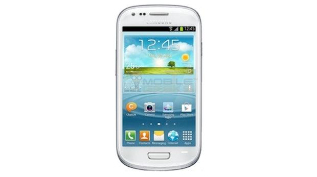 Samsung Galaxy S3 mini: Bild und Spezifikationen geleakt