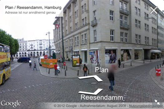 Google Maps: Street View jetzt auch im mobilen Browser