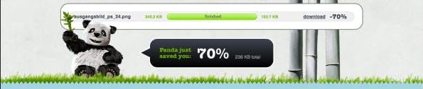 TinyPNG reduziert die Größe von PNG Dateien um bis zu 70%