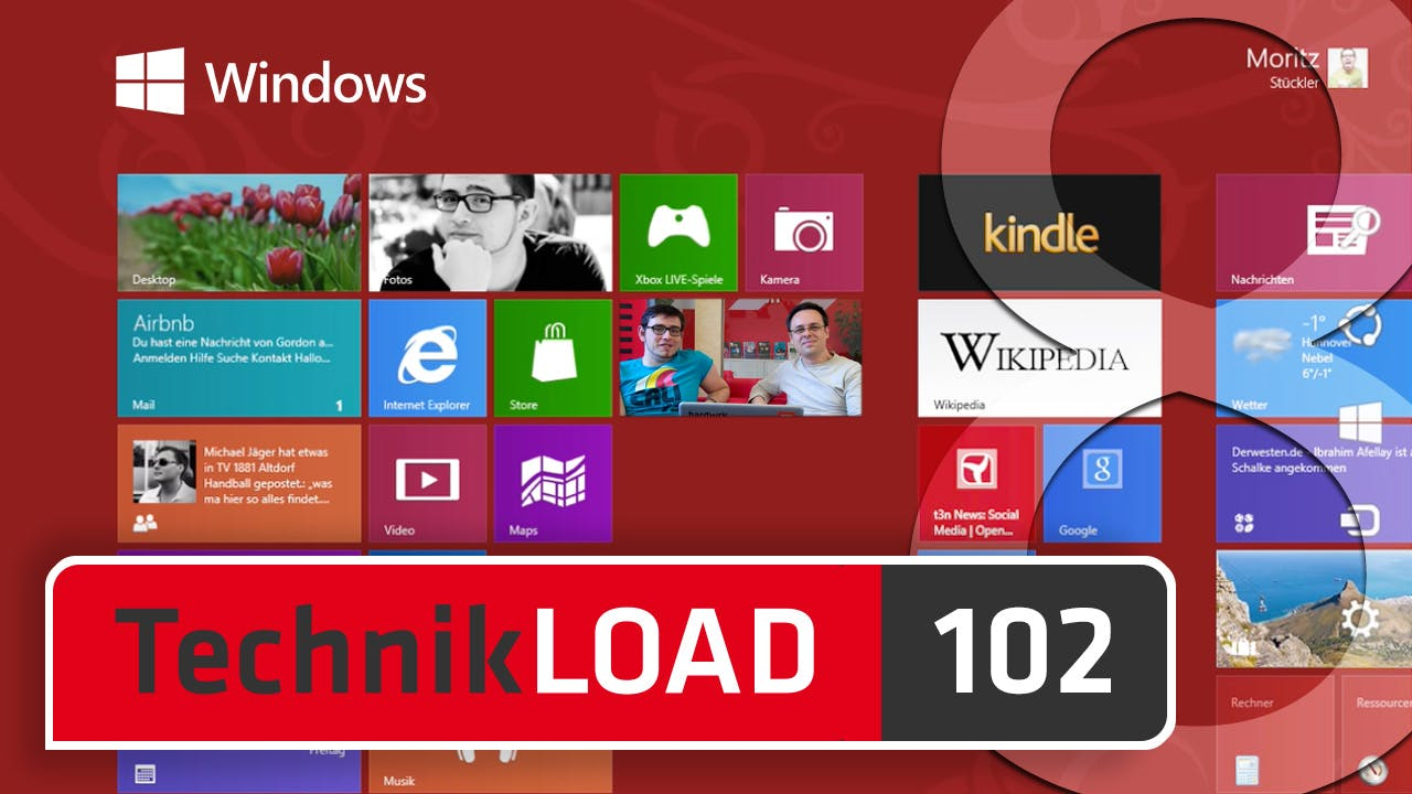 Windows 8 ist da [TechnikLOAD 102]