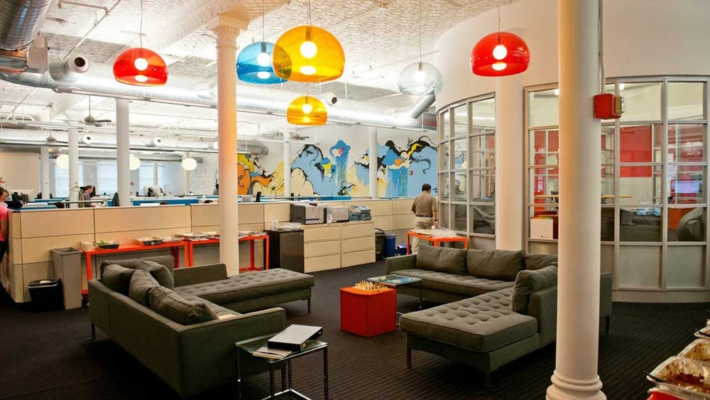 Das Outbrain-Office in San Francisco. (Foto: Mashable)
