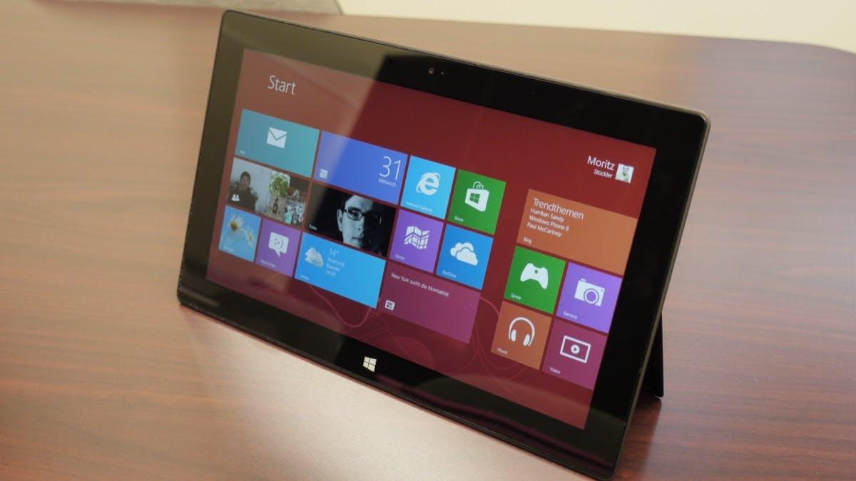 Microsoft Surface ausprobiert [Video+Galerie]