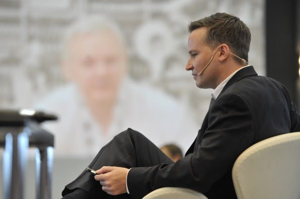 Julian Assange und Richard Gutjahr, ConventionCamp 2012