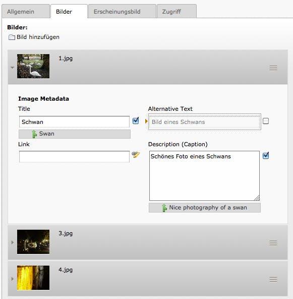 """Der """"File Abstraction Layer"""" des TYPO3 CMS 6.0 im Einsatz."""
