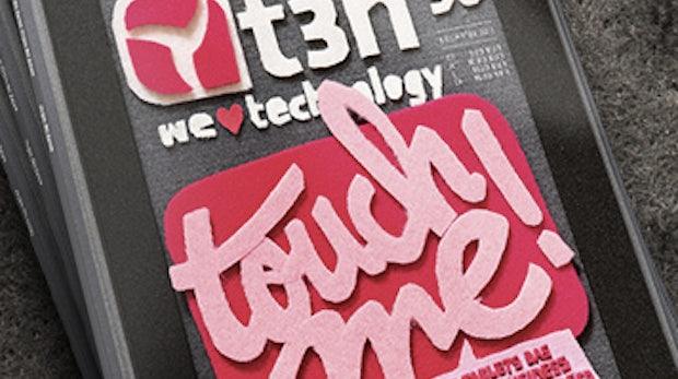 "t3n 30 ist fertig: ""Touch me! Wie Tablets das digitale Business radikal verändern"""