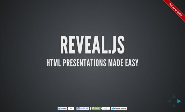 reveal.js in Aktion