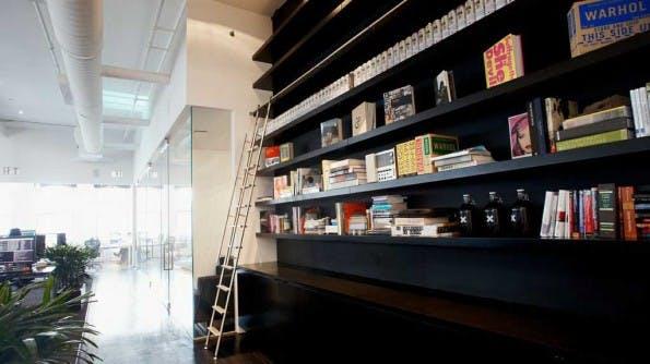 Die Büroräume von Squarespace, Anbieter eines Homepage-Baukastens. (Foto: Mashable)