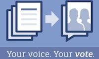 Facebook Abstimmung: Bis 10.12. über Datenverwendungsrichtlinien mitentscheiden