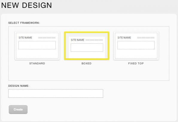 Bootstrap Designer Vorlagen
