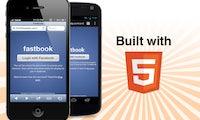 Fastbook: Startup baut Facebook-App in HTML5 - Schneller als offizielle App