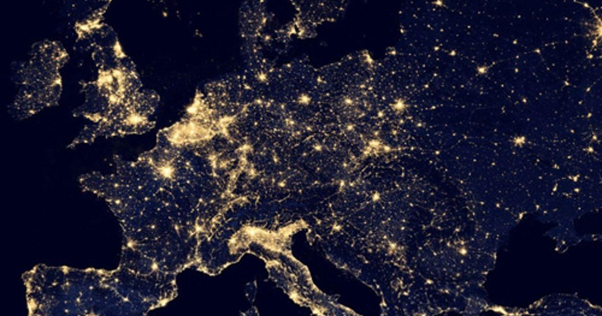Night On Earth Black Marble Zeigt Google Earth Bei Nacht