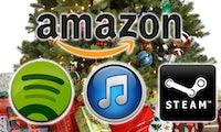 Digitale Weihnachtsgeschenke, die noch am Heiligabend eingelöst werden können