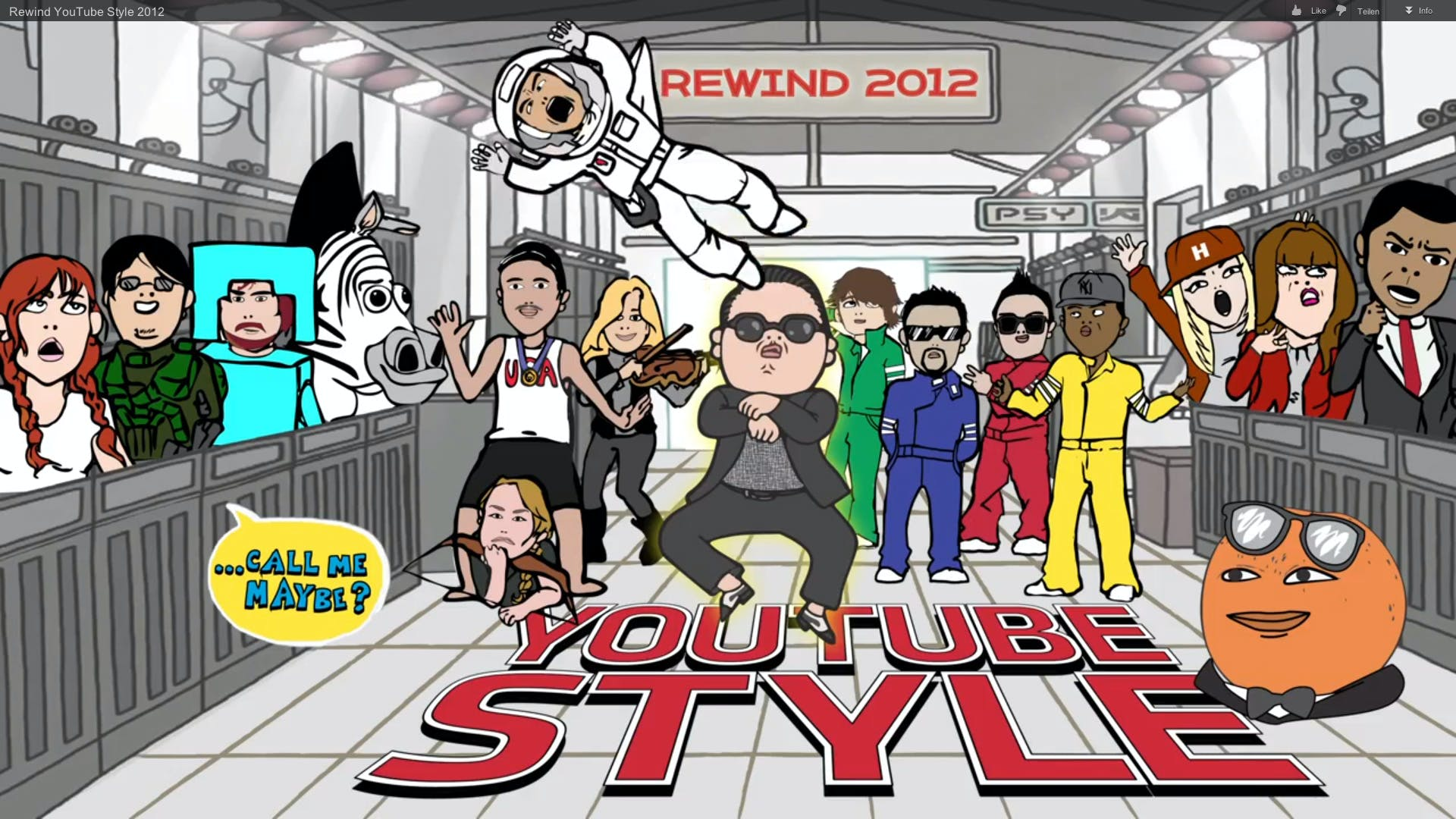 Jahresrückblick: YouTube bringt die bekanntesten Internet-Stars zusammen