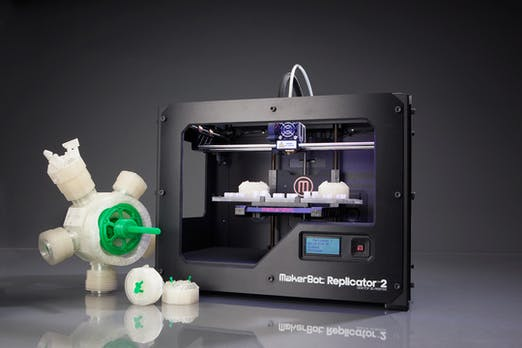 Makerbot Replicator 2: 3D-Drucker im Praxistest