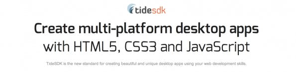 TideSDK Screenshot