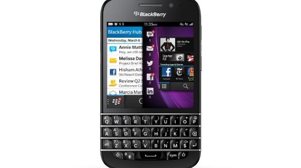BlackBerry Q10: QWERTZ-Tastatur, LTE und BlackBerry 10