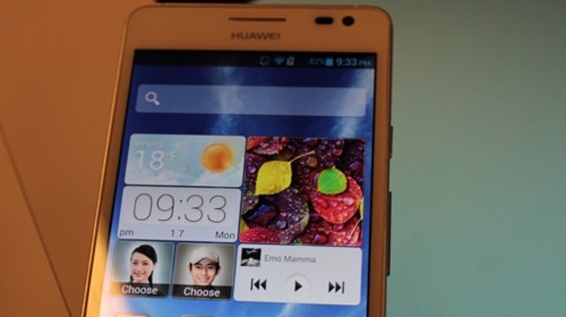 Ascend D2: Huaweis 5-zolliges Full-HD-Smartphone im Hands-On [CES 2013 Update]