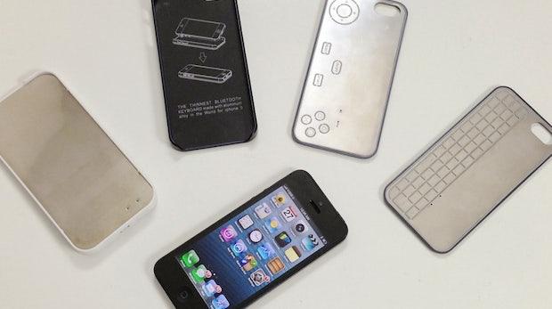 Extrem dünnes Tastatur-Gamepad-Duo fürs iPhone 5