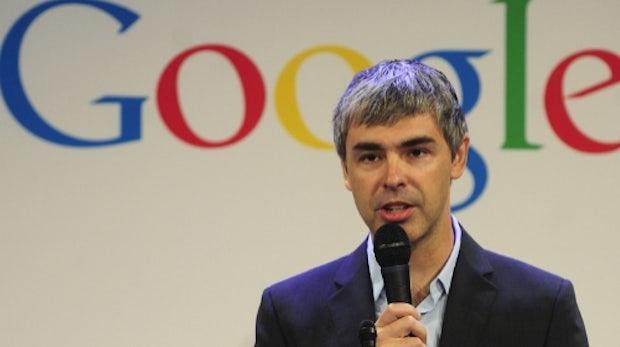 Larry Page deutet robustere Motorola-Phones mit langer Akkulaufzeit an