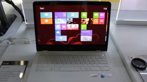 LG Z360: 1kg leichtes Ultrabook mit ordentlicher Ausstattung im Hands-On [CES 2013]