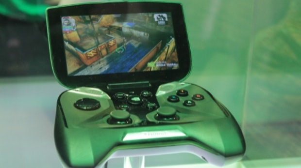 Project Shield: Gaming-Device mit Tegra 4 auf der CES 2013 [Video]