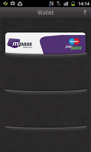 NFC mit (mPass) in der O2Wallet (Screenshot O2)