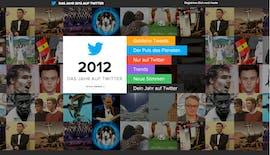 2012 auf Twitter