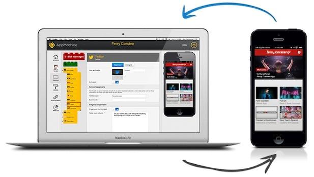 AppMachine: Ohne Vorkenntnisse schicke iOS- und Android-Apps entwickeln
