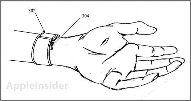 Apple iWatch: Patentantrag zeigt flexibles Display-Armband