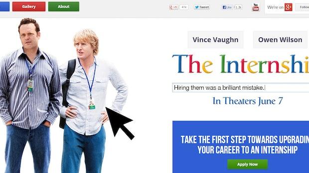 The Internship: Trailer und Website zum Google-Film sind da