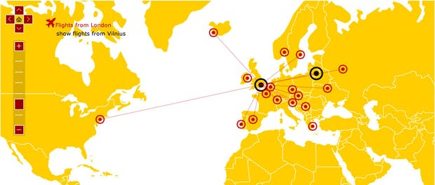 amMap: Interaktive Karten für Web-Projekte