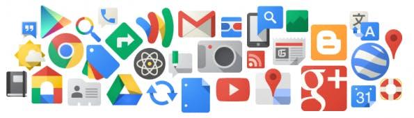 Google mit seinen umfassenden Web-Services für die Zukunft gut gerüstet