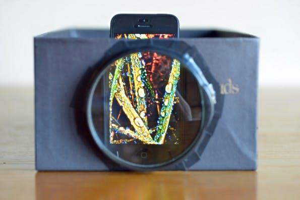 Häufig Smartphone-Beamer zum Selberbauen – für einen Euro VB56
