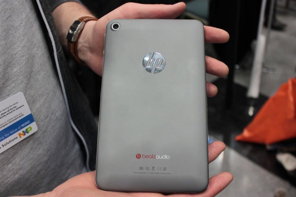 HP Slate 7: Rückkehr in den Tablet-Markt mit günstigem 7-Zöller [MWC 2013]