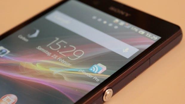 Xperia Z: Sonys schlankes Full-HD-Topmodell im Test