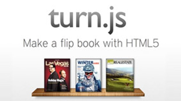 Turn.js: Page-Flip-Effekte mit HTML5 statt Flash