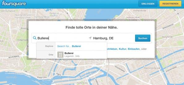 Check-ins Foursquare – Beliebteste Locations in Deutschland
