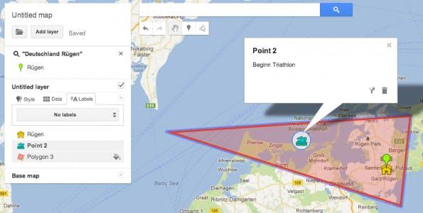 Google Maps Engine Lite - Beispiel