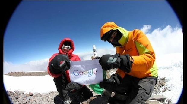 Mit Google Maps auf den Mount Everest