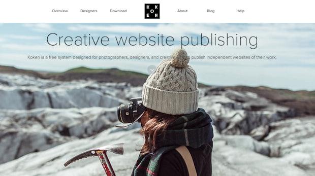 Koken: Das Portfolio-CMS für Designer und Fotografen