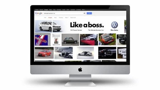 """""""Like a boss"""": Kreative SEO-Werbeaktion für Volkswagen"""