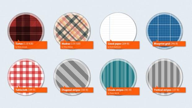CSS-Muster: 37 Hintergrund-Beispiele mit wenigen Code-Zeilen