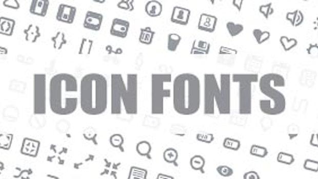 Icon Fonts im Webdesign: 3 Anbieter im Vergleich