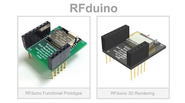 RFduino: freier Mikrocontroller mit Bluetooth im Miniformat