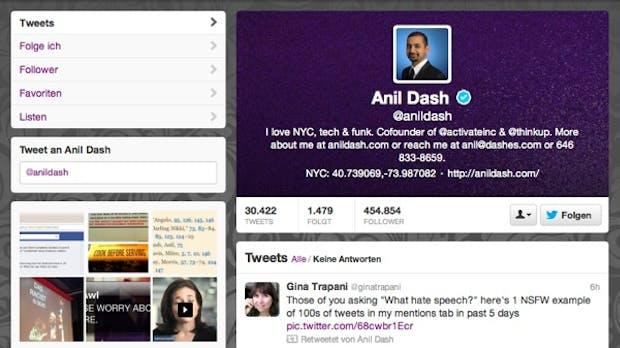 Verified Twitter-Account: Warum ihr ihn nicht bekommen werdet